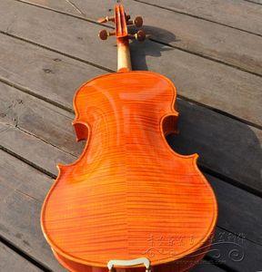 全手工高档演奏级小提琴/音色纯净/纯手工制作意大利油漆小提琴