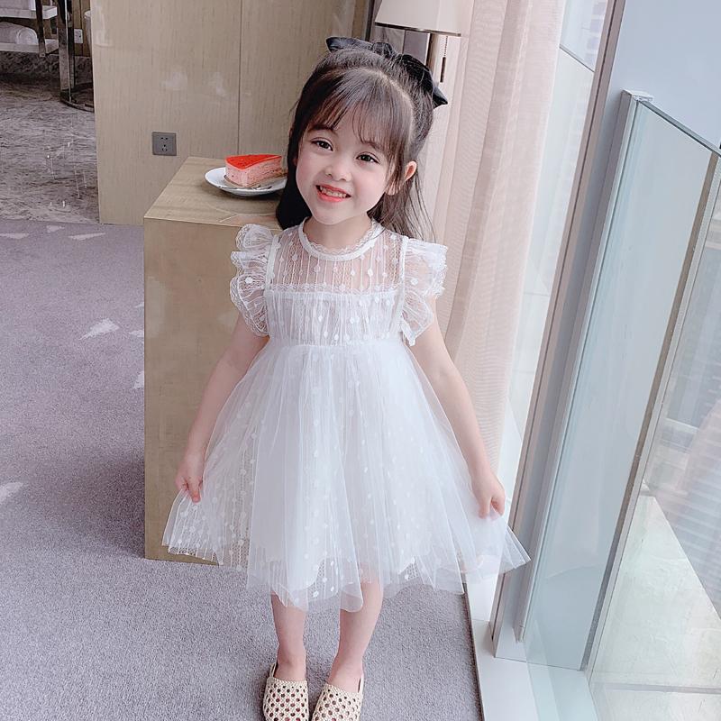 2020夏季新款女童装儿童连衣裙超洋气宝宝公主裙子小女孩纱裙蓬蓬