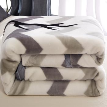 珊瑚绒毯子加厚保暖双层垫床单被子
