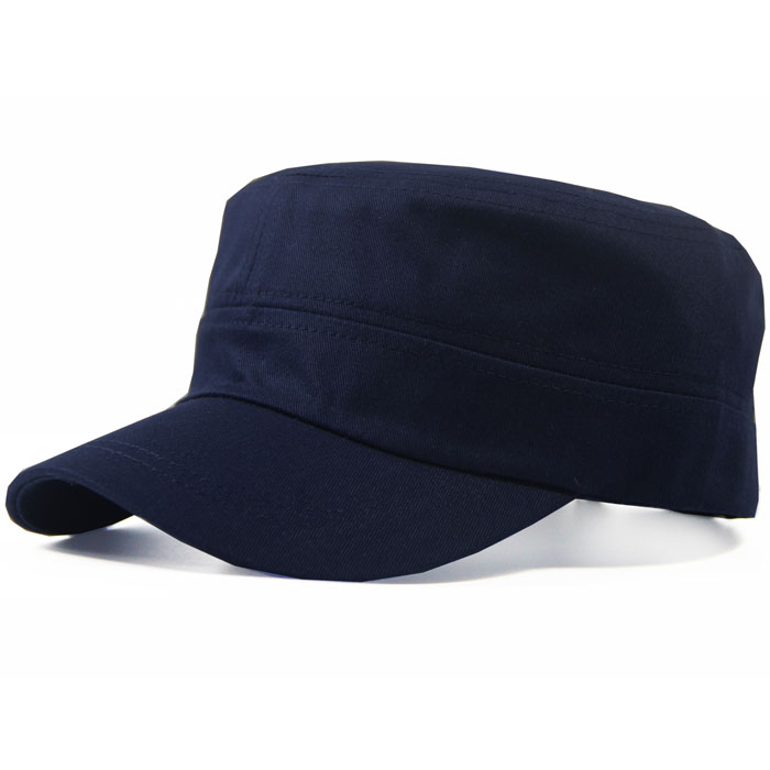 Hat mens summer duck tongue hat Korean tide flat top hat spring and autumn outdoor baseball military hat mens leisure sunscreen