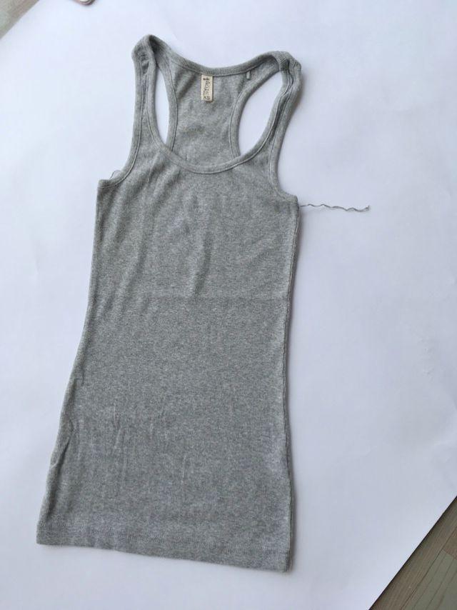 欧美女装 弹力棉女士工字背心 修身百搭基础款贴身纯棉外穿上衣