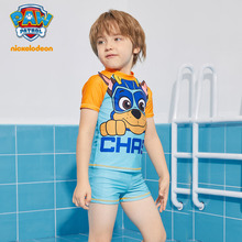 汪汪队男童防晒速干分体套装泳裤