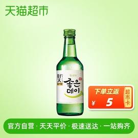 韩国进口 好天好饮原味配制酒烧酒清酒 16.9%VOL 360ml图片