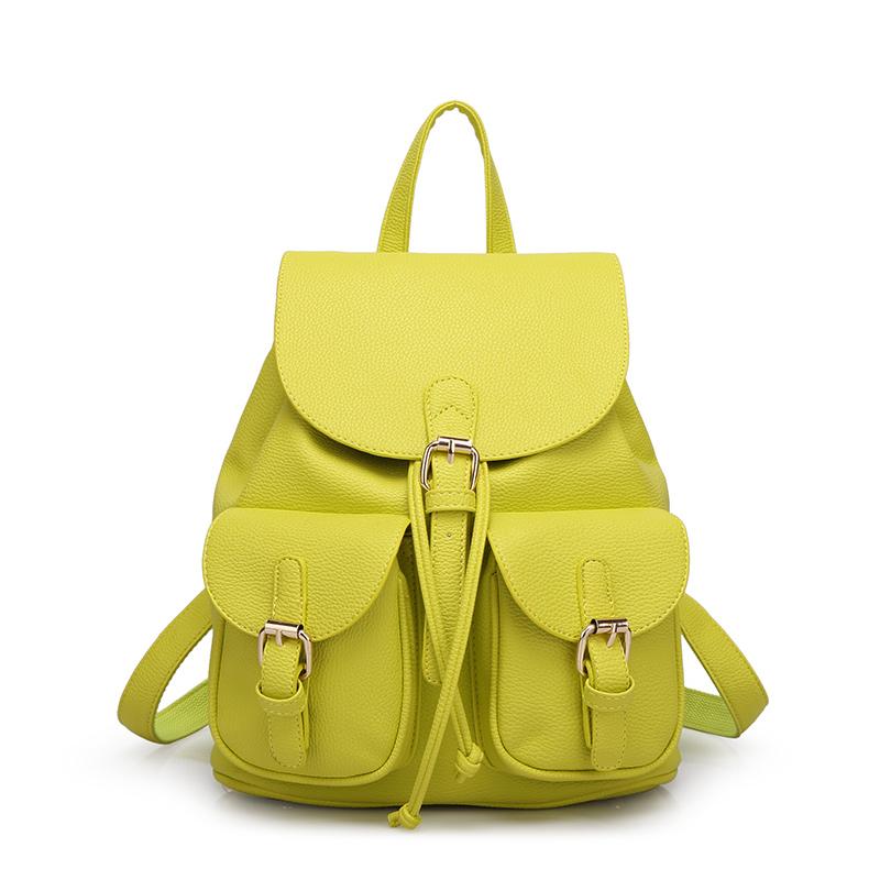 Новые зимние 2015 сушилка пу сумка девушка корейской версии институт ветер что англии рюкзаки прилива pu кожа сумка сумка