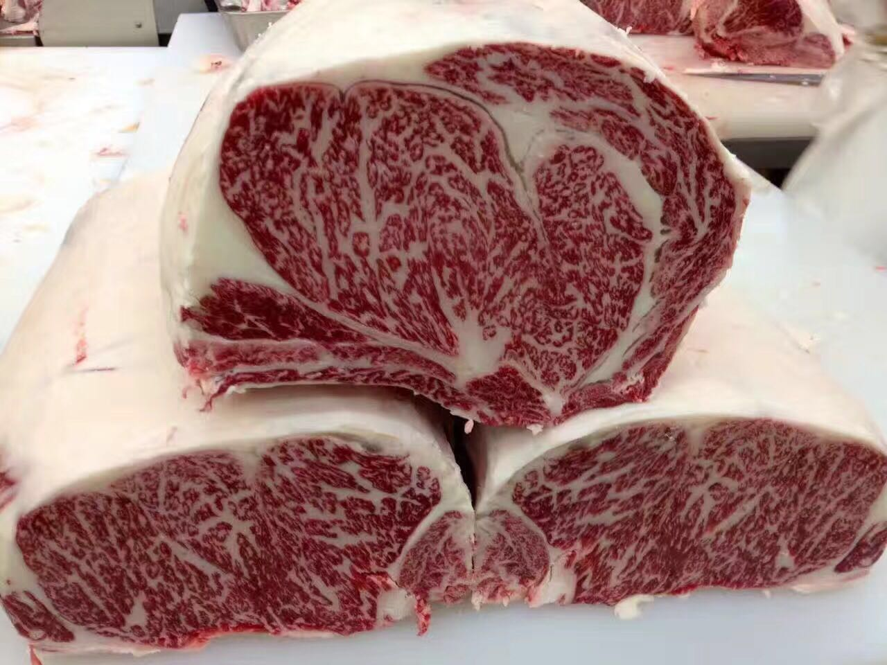 黑毛和牛眼肉 雪花牛肉 肉眼牛排 A5和牛日式烧肉