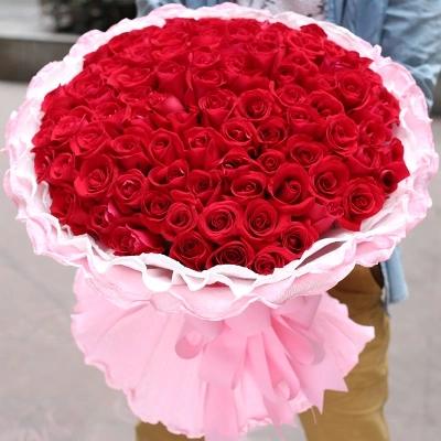 33,52,99朵红玫瑰四川达州通川区达县宣汉县鲜花店同城速递送花