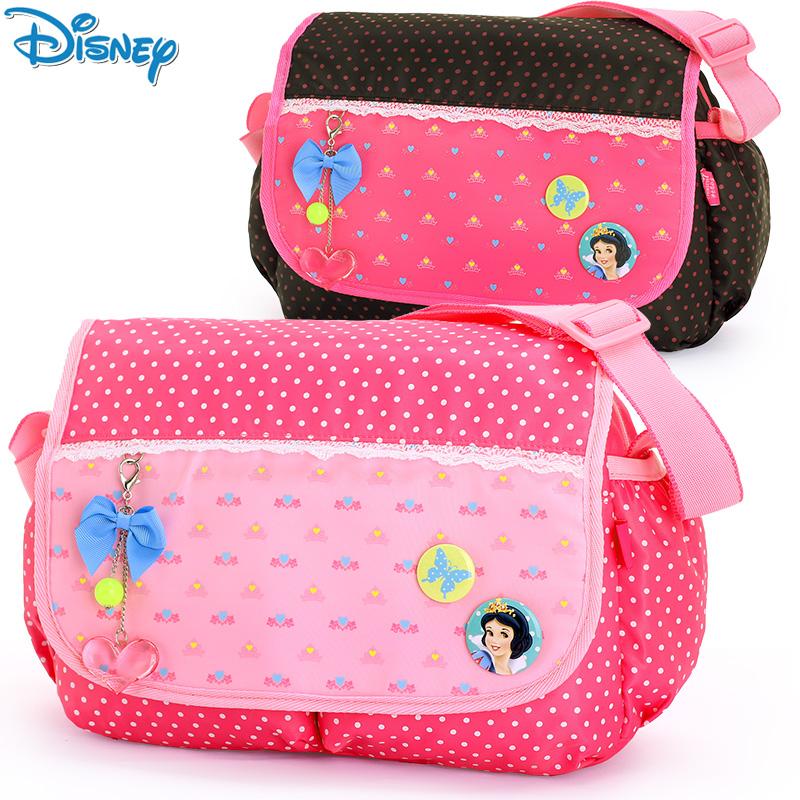 兒童斜挎書包女童 迪士尼公主 斜挎包單肩 包小學生書包