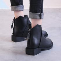 CO590DC9天美意冬新款商场同款拉链过膝靴女长靴品牌清仓