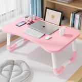 床上小桌子笔记本电脑桌懒人卧室折叠书桌学生宿舍写字作业简便桌