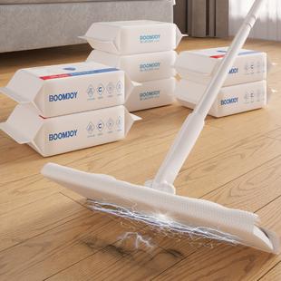 静电除尘纸拖把一次性免洗拖布纸擦地湿巾家用地板拖地湿纸巾吸尘