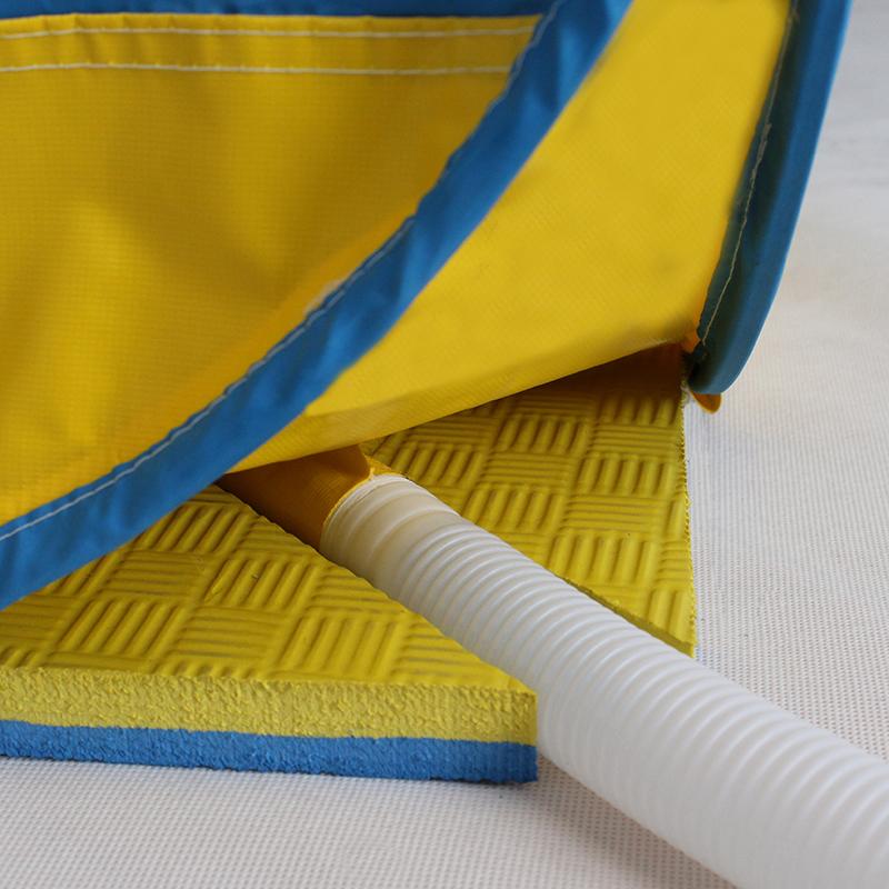 EVA材料高耐磨防积水垫子有底不漏水简易折叠淋浴房洗澡帐篷专用