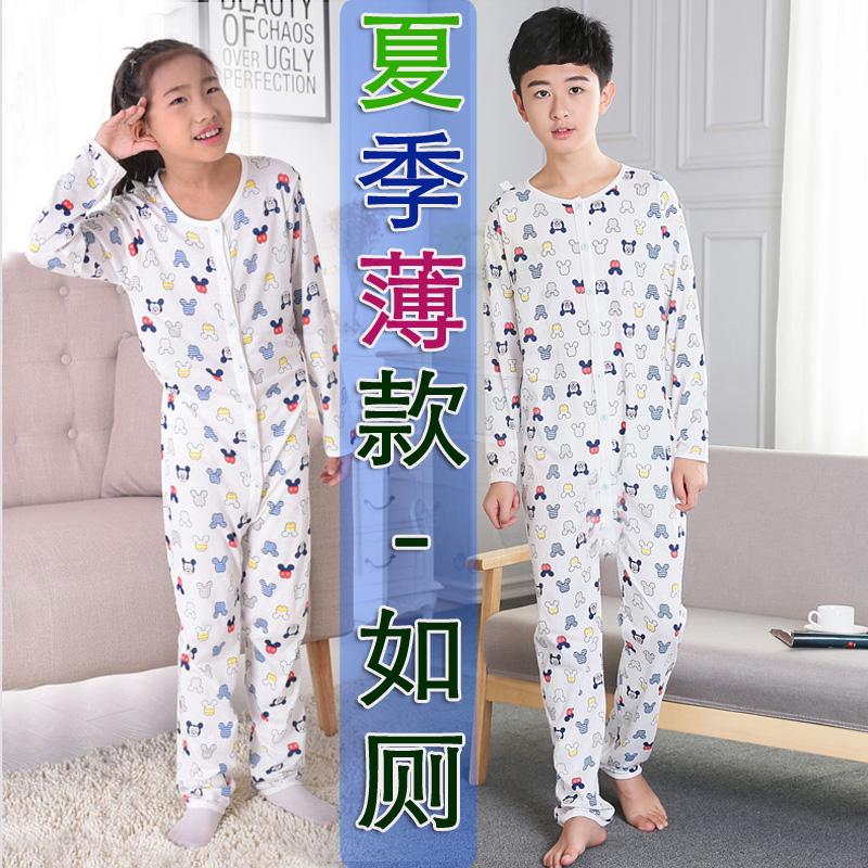 2件7折男童夏季纯棉连体衣儿童睡衣59.88元包邮