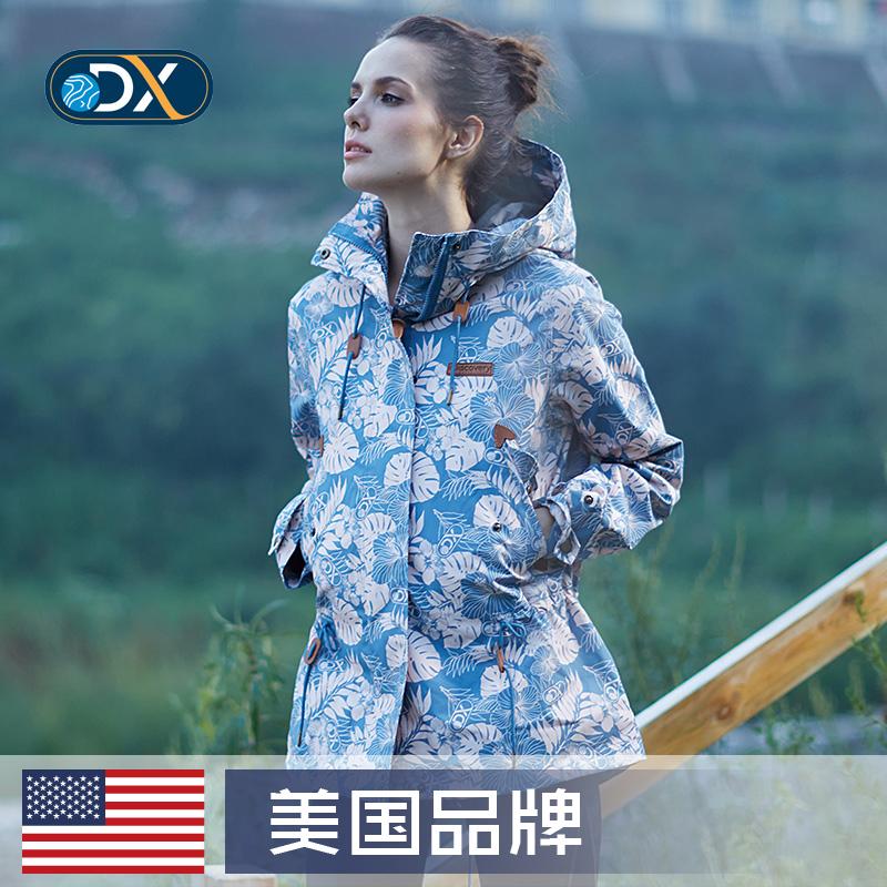 New American Outdoor womens work clothes travel coat waterproof moisture permeable warm windproof coat Xinjiang Tibet Tour