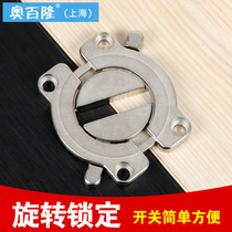 New thickened zinc alloy desktop combination plank link connection fastening fastener desktop hardware splicing Accessories