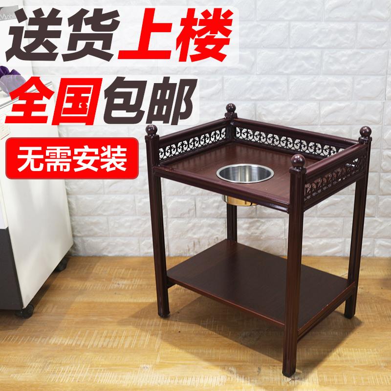 高檔麻將機桌茶几煙灰缸棋牌室木茶几茶樓茶水台茶架茶凳邊幾角幾