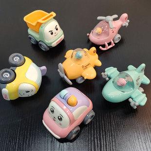 海底捞宝宝回力车惯性小汽车工程模型玩具飞机女男孩婴儿童1 23岁