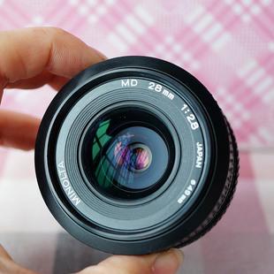 美能达 MD口 广角大光圈定焦风景微距镜头28mm/f2.8 X700可用
