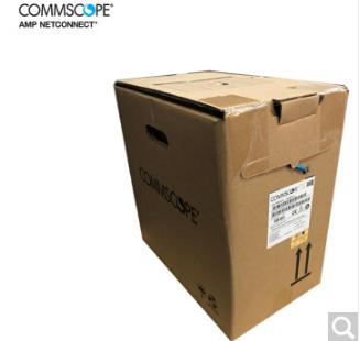 AMP 康普1427071-6 安普六类非屏蔽网线 千兆网线  整箱拆散20米
