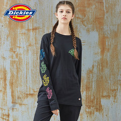 Dickies&KEITH HARING印花长袖T恤oversize长袖TEE 男 183U30KH05