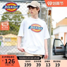 【商场同款】dickies多色logo男t恤