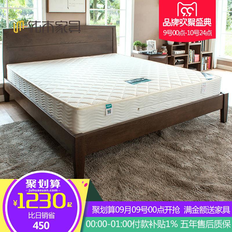Отлично дерево мебель охрана окружающей среды кокосовые матрасы весна двуспальная кровать подушка сиденье мечтать мысль 1.2/1.5/1.8 метр 22 см толщиной