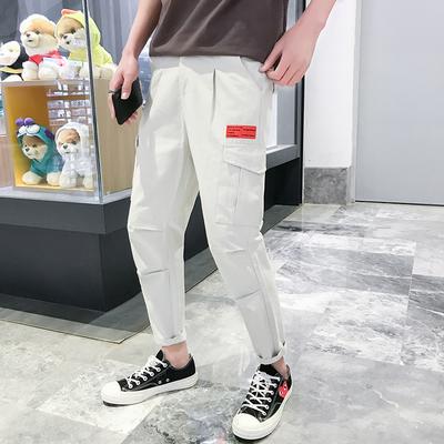 2018春秋款潮男士九分裤子 工装休闲裤 <em>K807</em> P55