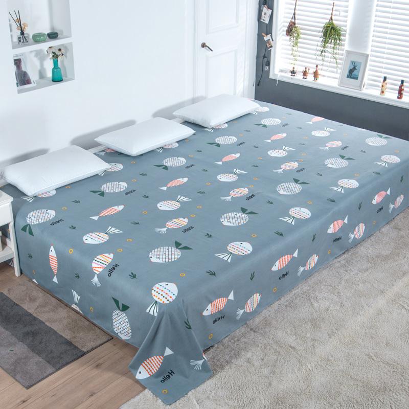 大炕單3米3.5m加大床單單件4米農村土炕雙人加厚加長榻榻米床單
