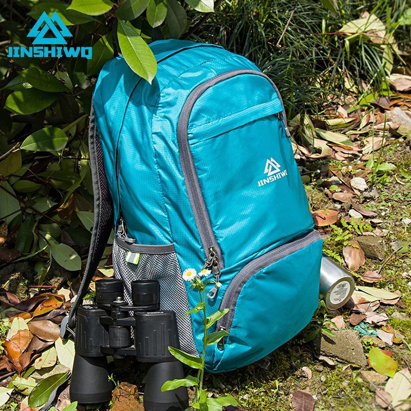 Foldable backpack womens versatile travel large capacity backpack high school junior high school students new schoolbag