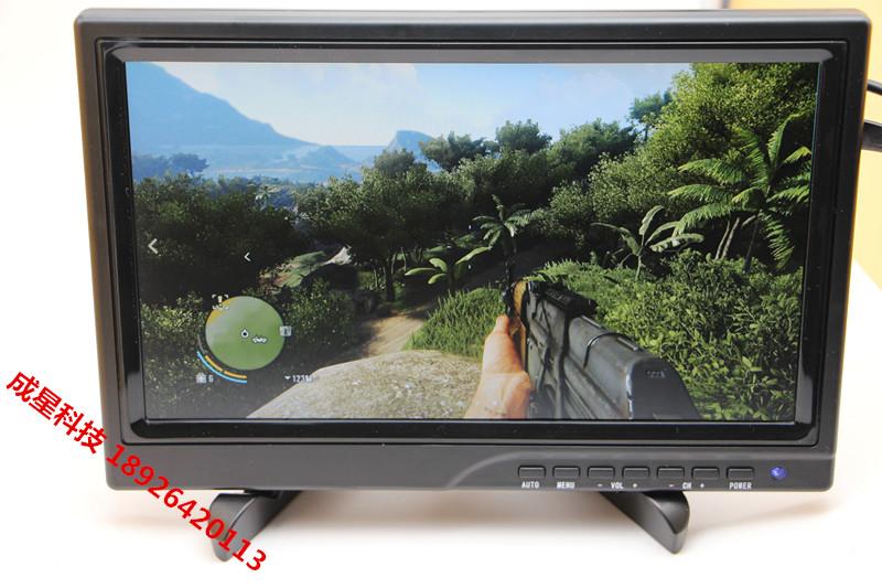 Портативный дисплей PS3 PS4 xbox игра hd малина пирог шоу IPS все внимание угол HDMI 1080P