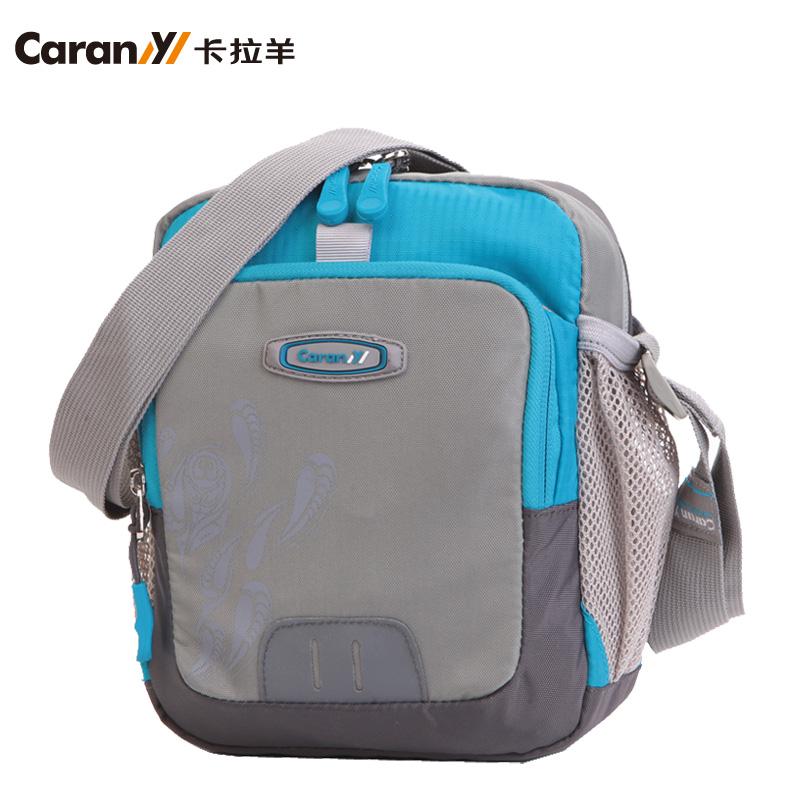 正品卡拉羊韩版单肩包男 手提运动随身包 女包 休闲斜挎包小包包