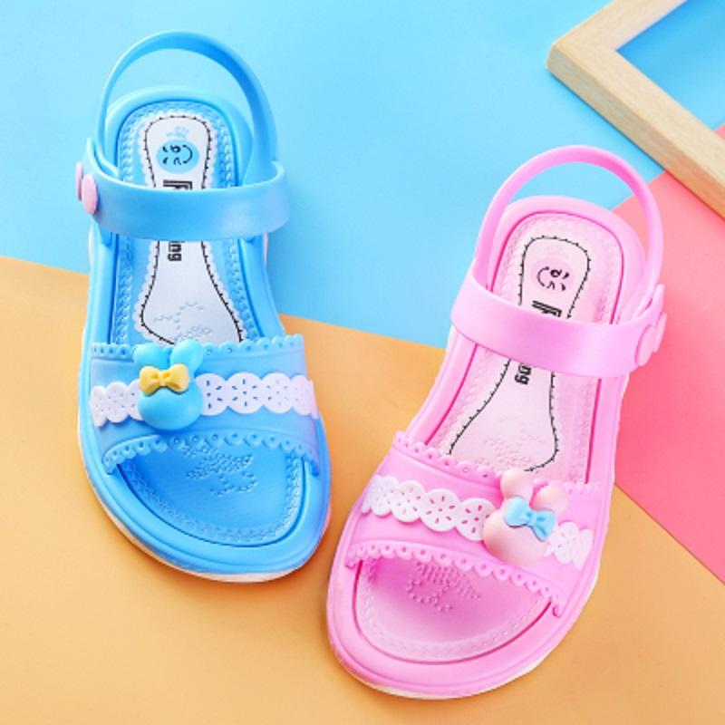 女童凉鞋2019夏季新款韩版儿童鞋子中大童防滑软底沙滩鞋男童凉鞋