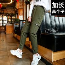 工装裤女宽松加长版超长170适合高个子女生的175气质女装套装店铺