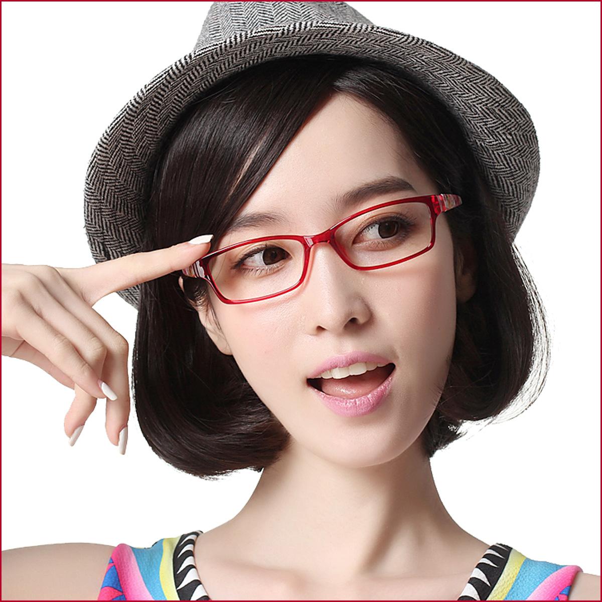 71cb663951 Korean female models myopia eyeglass frame glasses ultra-light TR90 glasses  frame tide elegant woman