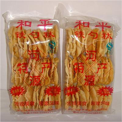 客家传统小食 河源特产铁勺哒 铁勺饼休闲小食 香酥可口广东特产