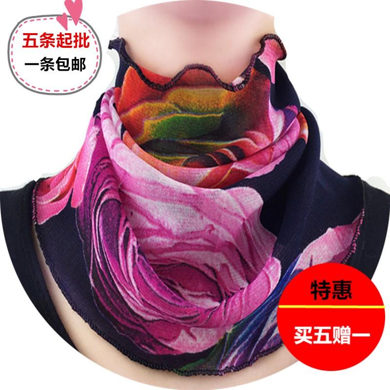 Четыре сезона универсальный модный, подходит ко всему поддельные воротник ребенок лето солнцезащитный крем ошейники шея разнообразие хеджирование шарф нагрудник тонкая модель