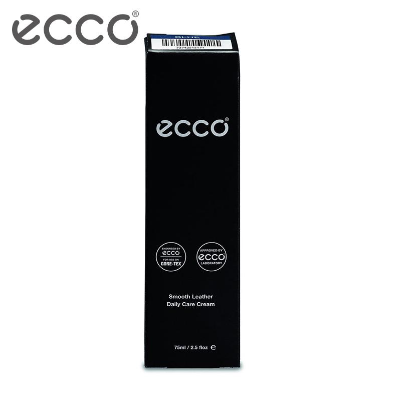 ECCO爱步 黑色光皮鞋乳 皮革清洁保养上光 9033300
