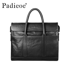 Handbag men's 2019 new fashion briefcase men's bag business leisure leather hand bag computer bag hand