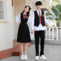 班服学院风校服套装中学生秋季高中生护奶裙朗诵服装初中生演出服