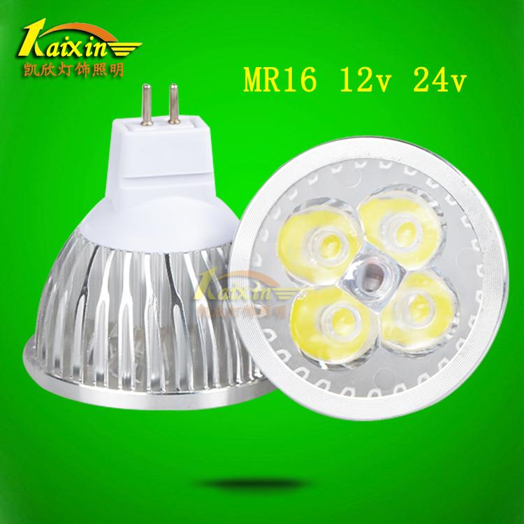 led�舯�插�_ 12v 3W5瓦7W MR16射��襞�220V�C�床工作��24VLED��