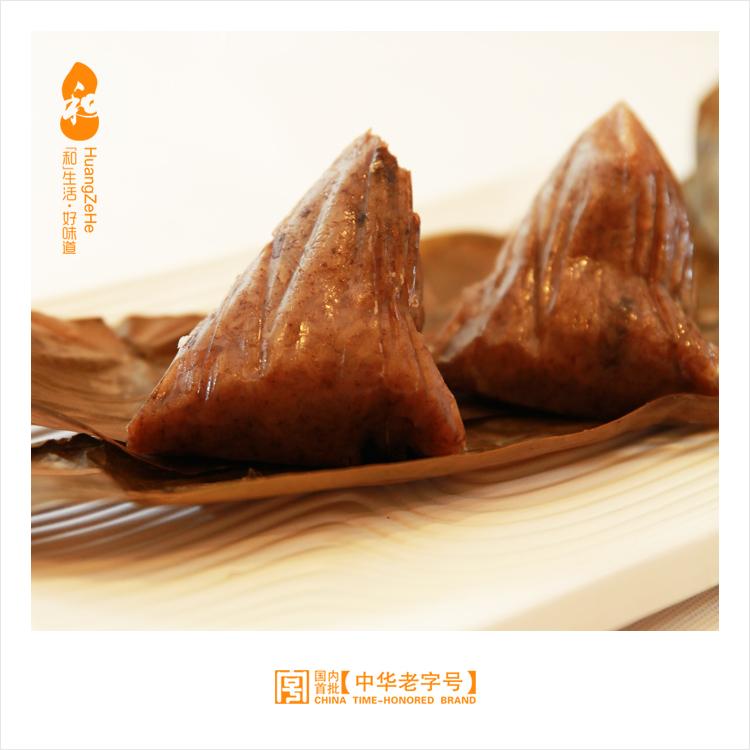 黃則和 廈門特產粽子真空 紅燒大肉粽鮮肉粽共4隻早餐360g^~2