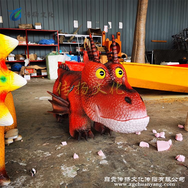 乘骑电动恐龙小车广场游乐设备仿真恐龙造型公园商场景区赚钱设备