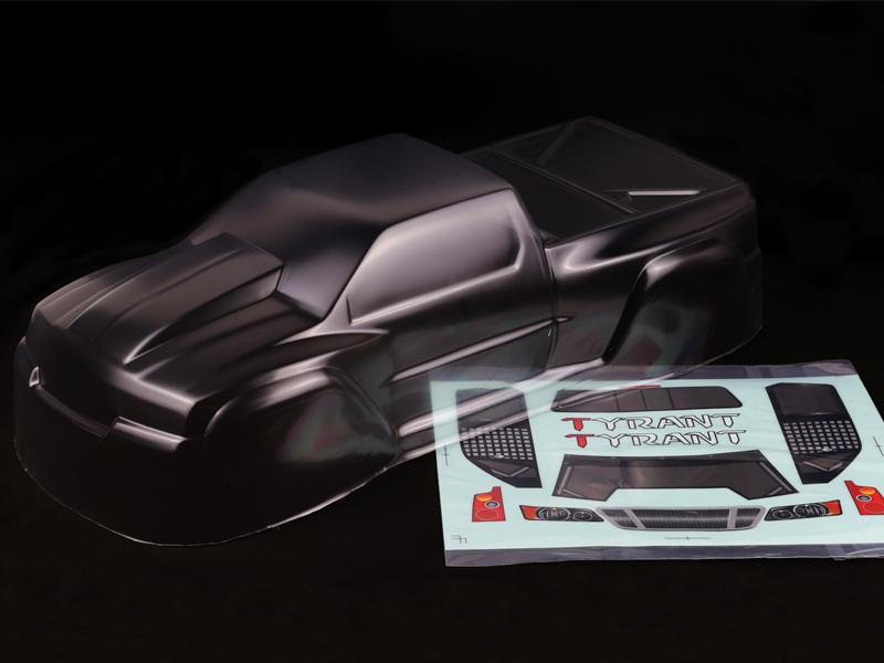 大菊花模型#3090 Tyrant GT2车壳透明版本