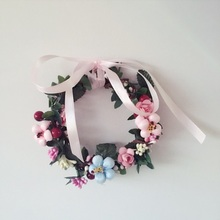 Bowknot is Europe type restoring ancient ways Corolla hanging decoration photography props the bride Can be felt