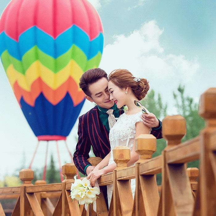 结婚样照婚纱照外景影楼相册主题样照放大3145实景基地摄影样片