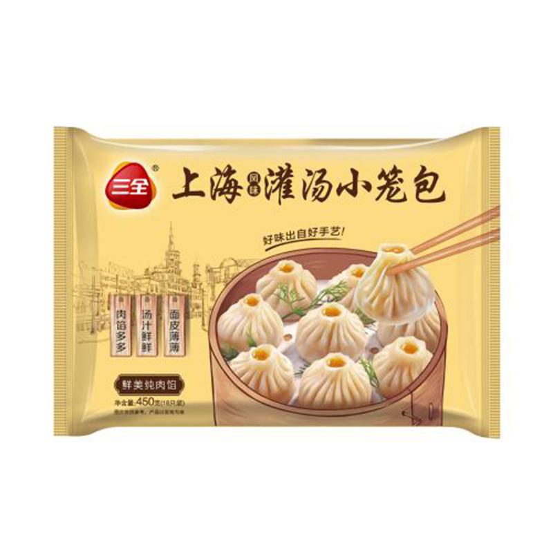 三全上海风味小笼包450g/袋