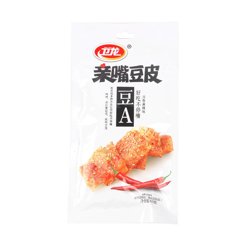 卫龙亲嘴豆皮豆腐皮 大辣片  60克/袋