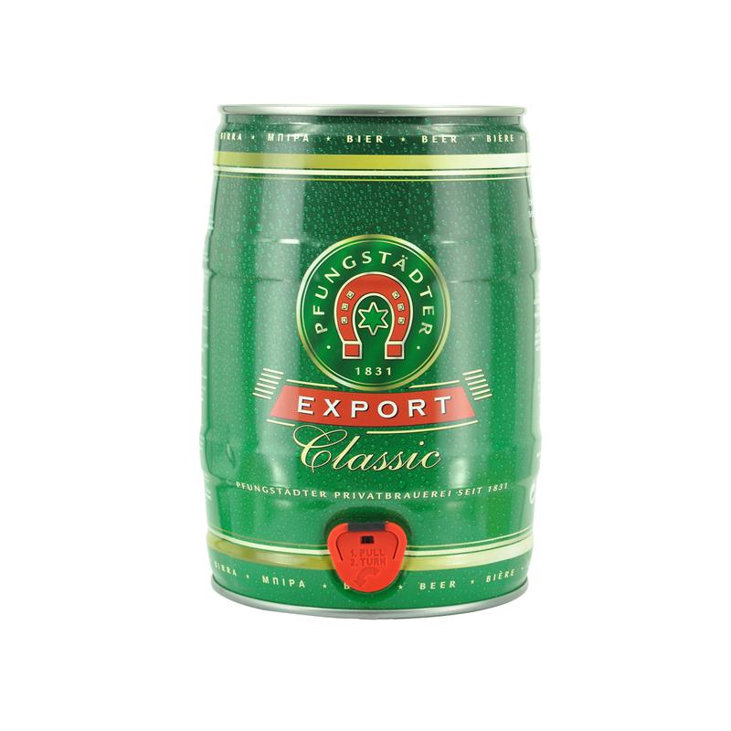 ~天貓超市~德國 啤酒Pfungstadter福斯特啤酒5L 大桶裝