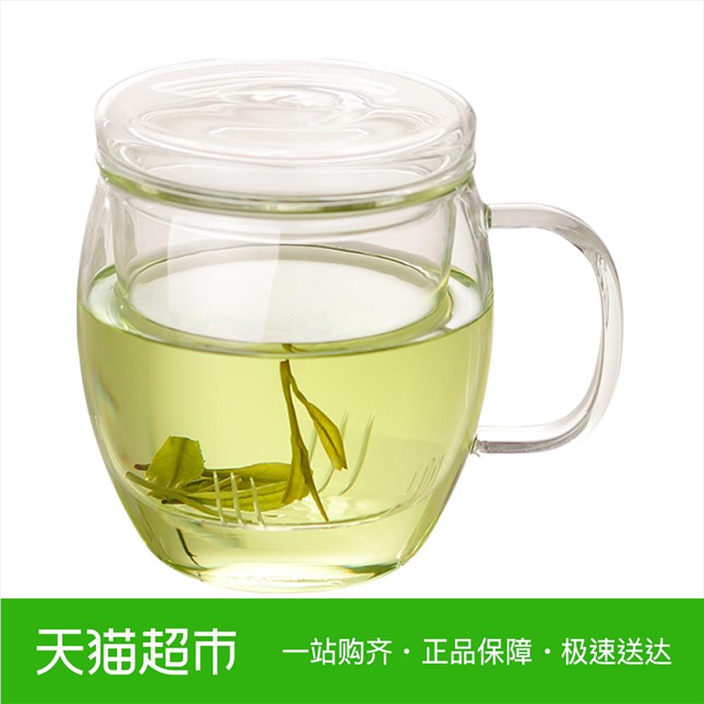 Edo三件杯透明玻璃杯花茶杯水杯茶杯杯子500ml