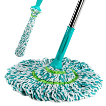 Lilin Wring Water mop free hand wash rotation mop dry and wet dual-use household lazy mop self-screwed water squeeze aquatic drag