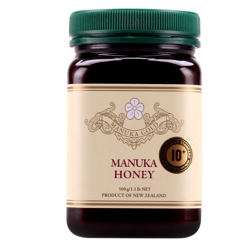~天貓超市~新西蘭 ManukaGold黃金麥盧卡蜂蜜10 MGO300 500g